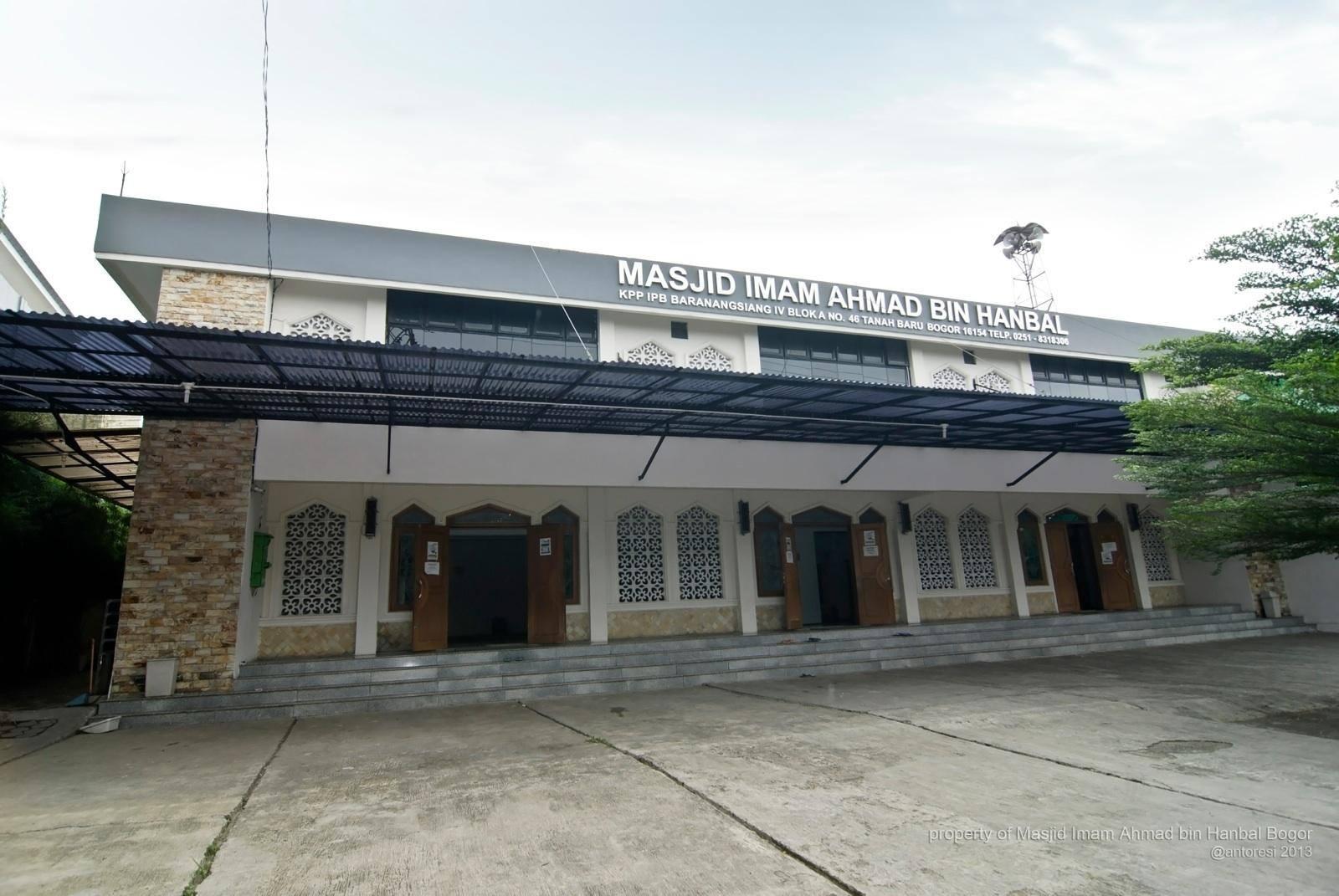 Tolong.. Jangan Teror Masjid Imam Ahmad bin Hanbal